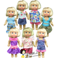 free shipping 5 sets clothes and dress for mini barbie doll for kelly doll for simba doll