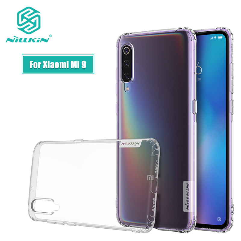 For Xiaomi Mi 9 SE Case Casing 6.39'' Nillkin Nature Transparent Clear Soft Silicon TPU Cover for Xiaomi Mi9 Mi 9 SE Case