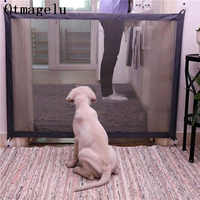 Cane di animale domestico Recinzioni Cancello di Sicurezza Pieghevole Pet Isolato di Rete Box Per Il Gatto Del Cane Del Bambino Isolato Porta A Casa Recinzione Gabbia Dell'animale Domestico accessori