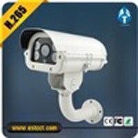 H 265 White LED Lght Camera HD 4MP IP Camera Super WDR License CarCamera Night Vision