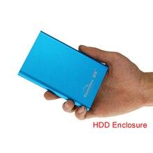 Алюминий случае портативный жесткий диск 250 г с USB 3.0 кабель SATA HDD 2.5 «1,8-дюймовый жёсткий диск