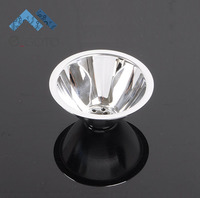5 Degree Aluminium LED Reflector Cup LED Lamp Cup Condenser For High Power LED Flashlight D68mm