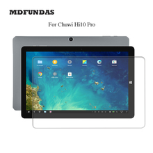 Tablet Glass For Chuwi Hi10 Pro Tempered Glass Film 10.1Inch Tablet PC Screen Protector Film 2D Edge 9H Transparent Ultra-thin