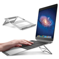 Newest Fashion Aluminum Alloy Firm Bracket for Macbook Air Pro Retina 11 12 13 15 Cooling Holder Tablet Stand for IPAD PC Stand