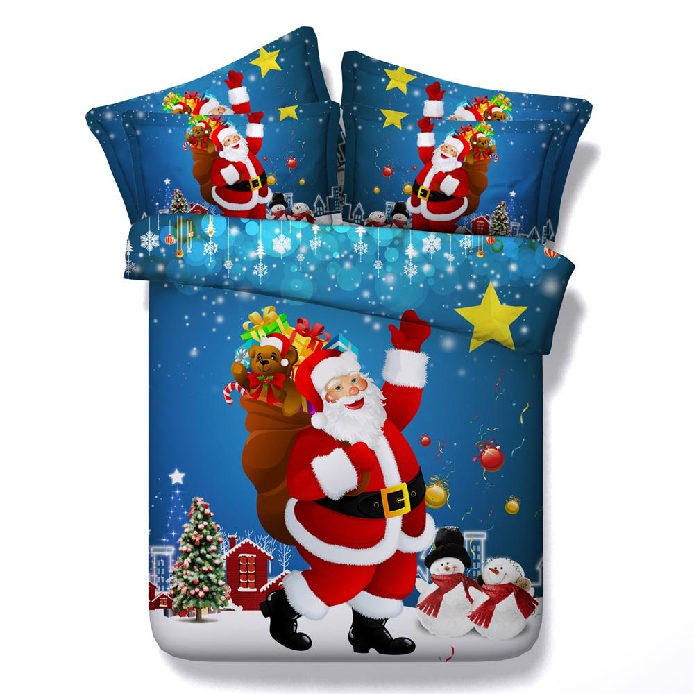 Christmas Bedding Set Duvet Covers California King Queen