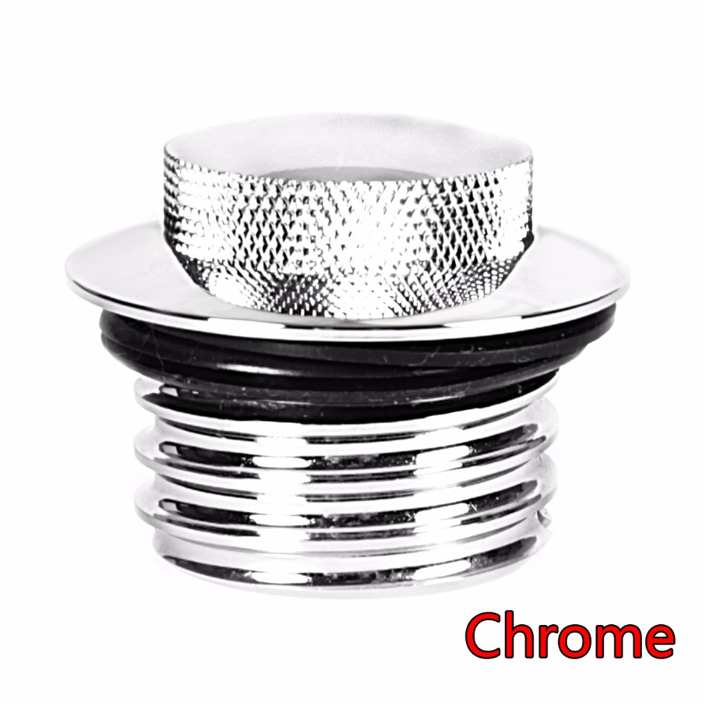 Chrome Flush Mount Pop-Up Gas Cap For Harley Touring 1996-2016 Screw-Type Tank Models
