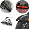 All New Motorcycle Smoke Lens Rear Fender Edge LED Tail Light Fits For Harley Davidson Iron 883 XL883N XL1200N Chopped