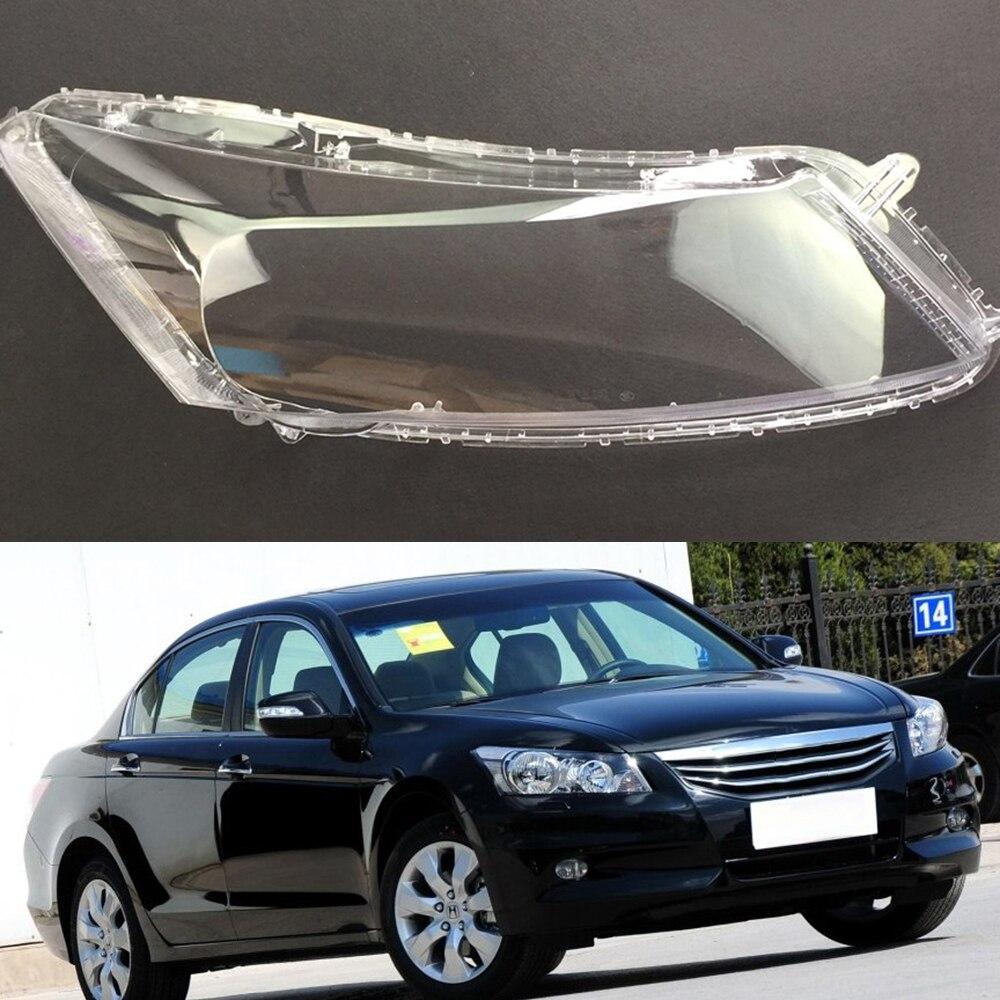 Pour Honda Accord 2.4 2008 2009 2010 2011 Transparent phare de voiture phare clair lentille Auto coque couverture