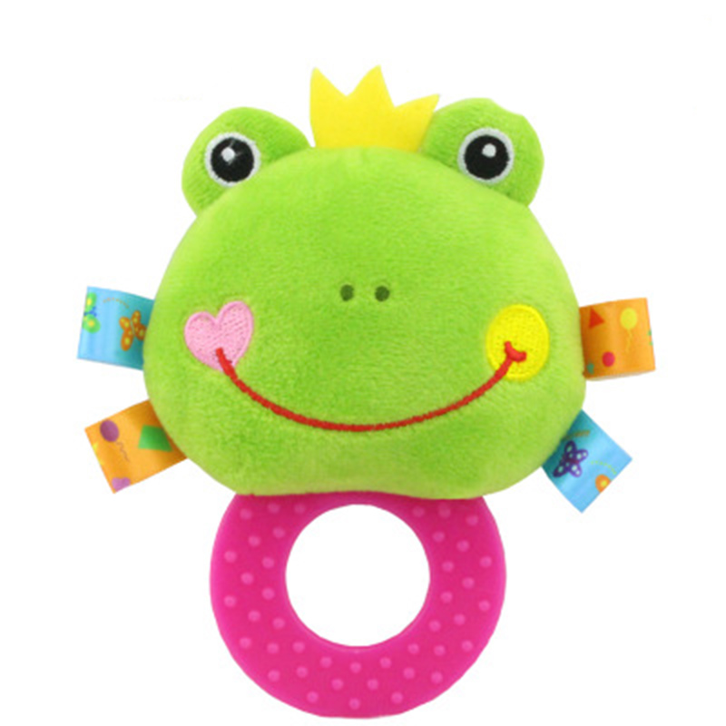 Infant Baby Plush Stuffed Toy Hand Grasp Teethers Cute Animal Newborns Early Development Boys Girls Gift in Baby Rattles Mobiles from Toys Hobbies