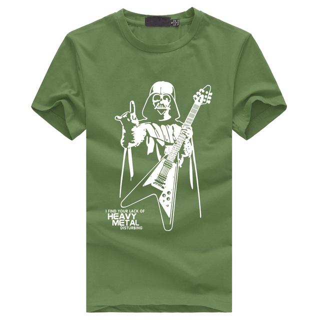 Darth Vader Heavy Metal Funny T Shirts  S-XXXL