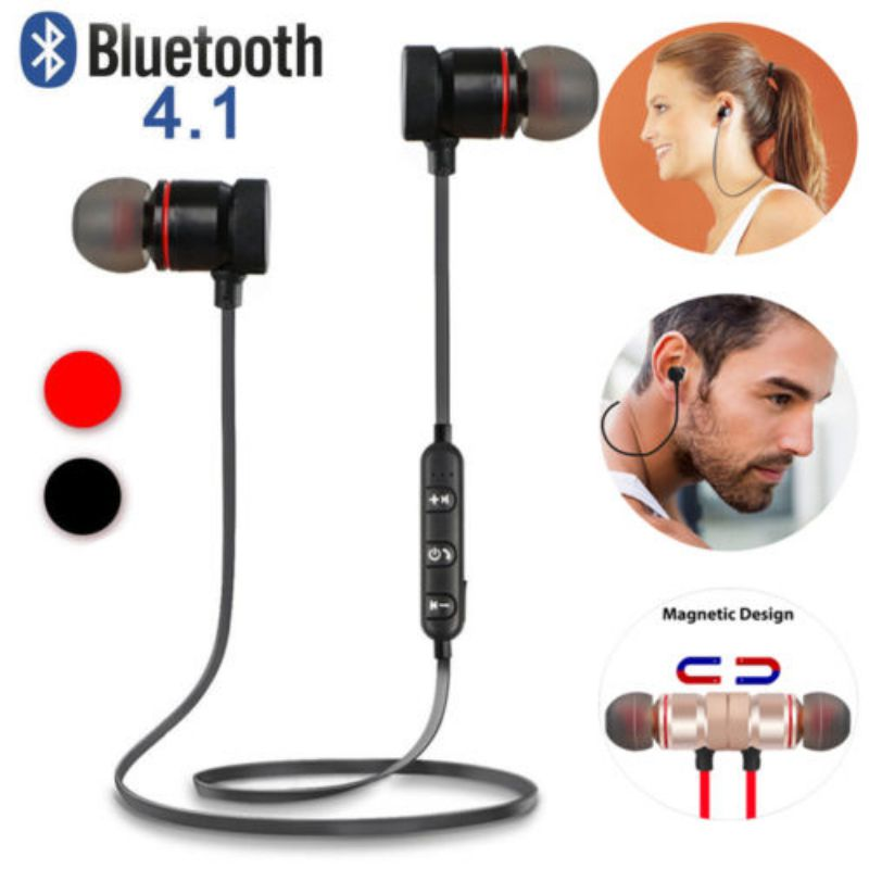 <font><b>i10</b></font> <font><b>tws</b></font> Fashion Magnetic Wireless Bluetooth Sports Earphones Bass Metal Earbuds In-ear Earpieces Universal For Phone S10 P30 <font><b>Pro</b></font> image
