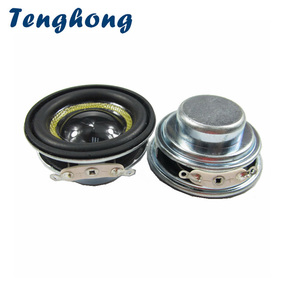 Tenghong 2 pçs 40mm à prova dwaterproof água alto-falante bluetooth 4ohm 8ohm 3 w alto-falante gama completa 1.5 Polegada unidade de alto-falante ao ar livre fibra de vidro diy