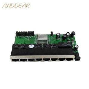 Image 1 - OEM nouveau modèle 8 ports Gigabit module de commutation bureau RJ45 Ethernet module de commutation 10/100/1000 mbps Lan Hub commutateur module 8 portas