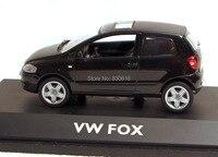 VW Fox schwarz 1/43 Schuco neu & OVP 4721 DieCast Model Car