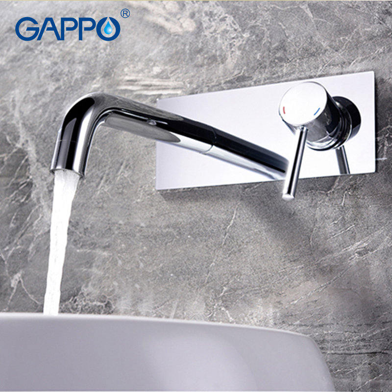 GAPPO Shower Faucets Concealed thermostat bathroom shower faucet waterfall wall mounted rainfall shower set bath faucet цена и фото