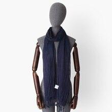 Tie Dyed Solid Color Plain 100% Viscose Wrinkled Scarves With Tassel Women Men Thin Long Scarf Bufanda Female Fashion Shawl Wrap