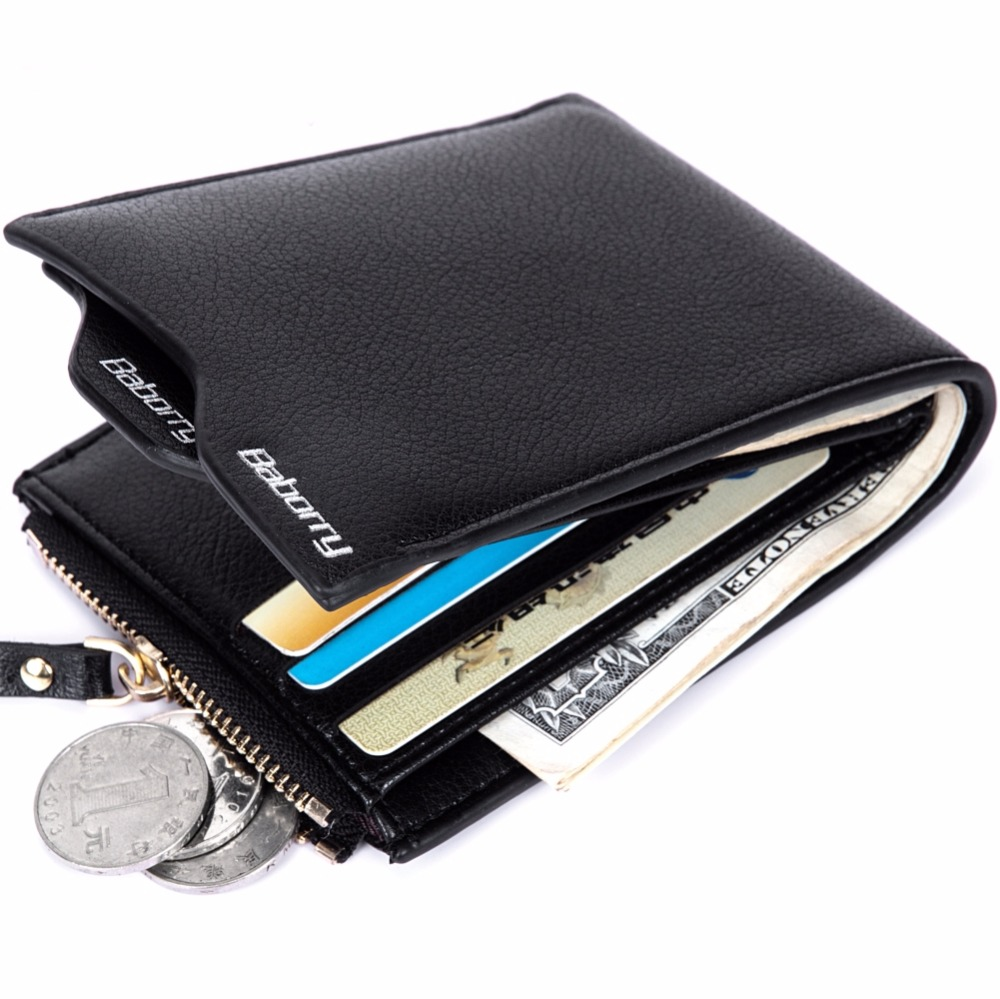 RFID Theft Protect Coin Bag Men Short Wallet PU Leather Money Purse Card Case Anti-Theft T016 2016 new arriving pu leather short wallet the price is right and grand theft auto new fashion anime cartoon purse cool billfold