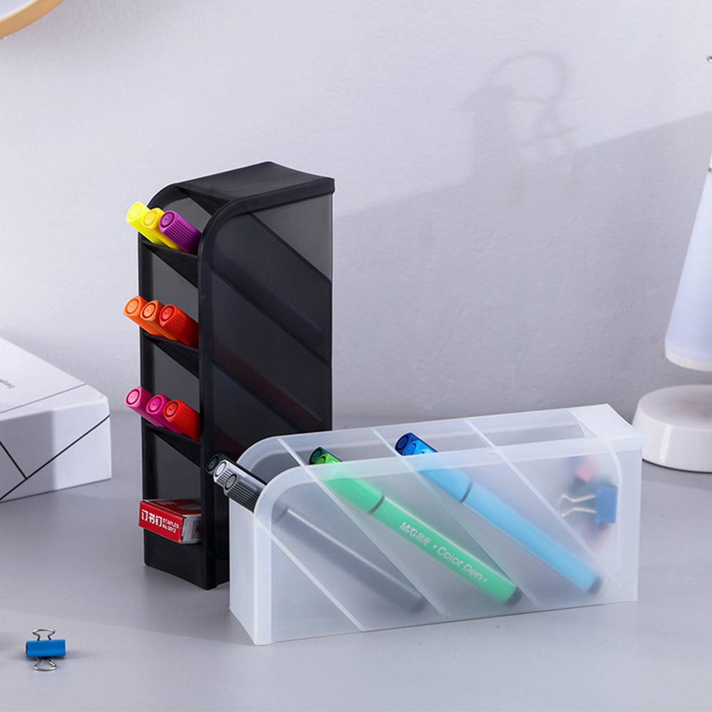 Office School Desk Pen Organizer Holder  Storage Case Office Pencil Storage
