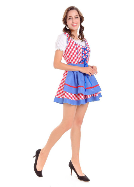 MOONIGHT Beer Women Oktoberfest Maid Costume Halloween Party Girls Dress Up Performance Service Cosplay  sc 1 st  AliExpress.com & MOONIGHT Beer Women Oktoberfest Maid Costume Halloween Party Girls ...