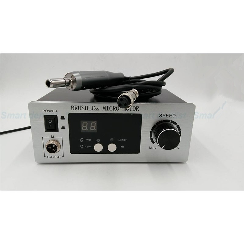 2016 NEW Dental Lab Carving Polisher rmp50000 Brushless Micro Motor  Handpiece Ac110V/220V Asin lyncmed endodontic treatment wireless endo motor handpiece surgical brushless motor reciprocating cutting mode
