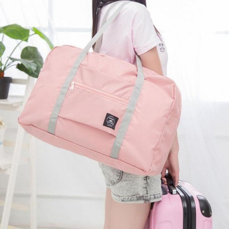 Multifunction Large Capacity Luggage Storage Bags Casual Folding Waterproof Suitcase Travel Pouch Handbag Organizer Tote Bag