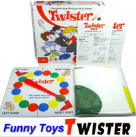 Twister Game toys Classic Family Party Toy Ties You Up In Knots Board indoor