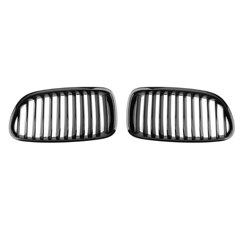 VODOOL Gloss Black Car Front Bumper Kidney Grilles Auto Racing Grills for BMW F10 F18 528i 530i 535i 2010-2016 стоимость
