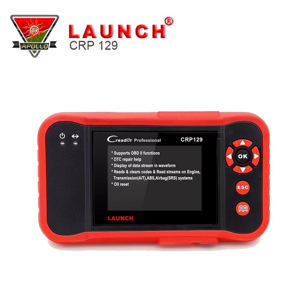 Цена за 2017 году CRP 129 OBD2 Code Reader Запуск X431 Creader CRP129 Авто сканер Инструменты OBDII сканер