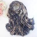 Звезды шарф женщины дамы шарфы ковбойском стиле галстук - краситель Scarve для мужчин платки шали и шарфы Bufanda Mujer подарок испания WJ054