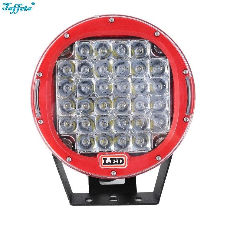 1PCS 96W 9 Inch IP68 Dustproof Waterproof Led Car Work Lights Modified Headlights Spotlights for SUV UTV ATV Truck