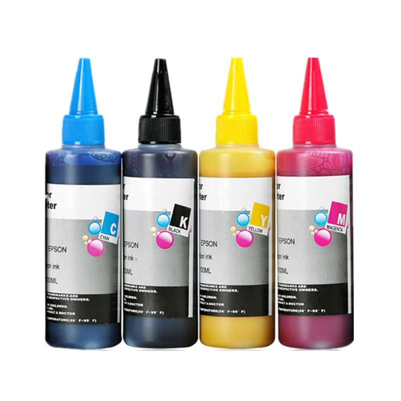 US $25 76 8% OFF|400ML sublimation ink for EPSON for Epson L210 / L350 /  L355 color inkjet printer-in Ink Refill Kits from Computer & Office on