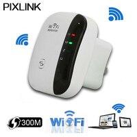 Pixlink drahtlose wifi repeater 300 mbps network extender wifi router repeater802.11n b/g signal-verstärker repetidor wps-verschlüsselung