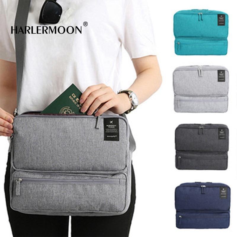 Harlermoon Nylon Crossbody Purse Multi-Pocket Travel Shoulder Bag Anti-Theft Heritage Crossbody Cross Body Bag High quality