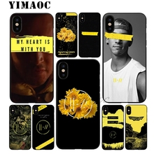 YIMAOC Twenty One Pilots 21 Soft TPU Black Silicone Case for iPhone X or 10 8 7 6 6S Plus 5 5S SE Xr Xs Max