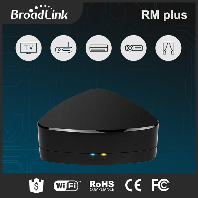 BroadLink RM Plus Universal Remote Controller IOS Android Smart Home Appliance Automation For OEM
