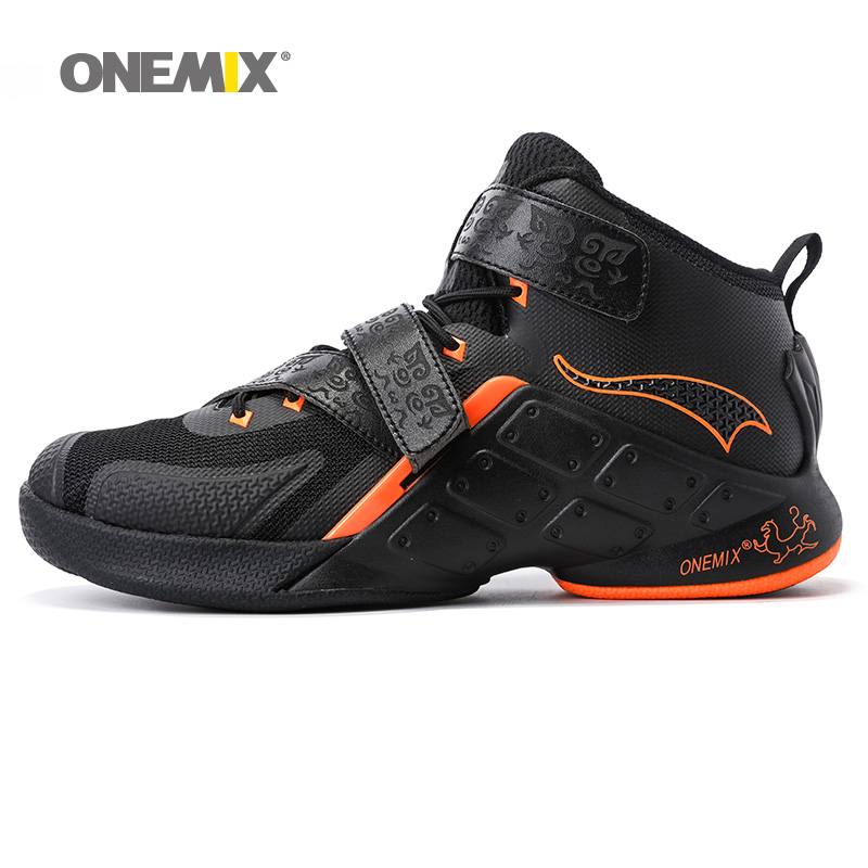 ONEMIX Man Basketball Shoes For Men Nice Classic Athletic Basketball Boots Trainers Gold Sports Shoe Outdoor Walking Sneakers peak men athletic basketball shoes tech sports boots zapatillas hombres basketball breathable professional training sneakers
