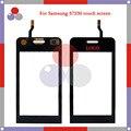 """Alta calidad 3.2 """"para samsung wave 723 s7230 s7230e pantalla táctil digitalizador del sensor frontal lente de cristal del panel negro"""
