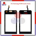 "high quality 3.2"" For Samsung Wave 723 S7230 S7230E Touch Screen Digitizer Sensor Front Glass Lens panel black"