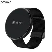 Scomas n10 смарт фитнес браслет монитор сердечного ритма шагомер фитнес-трекер смарт браслет для iphone android смарт-устройств