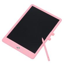 Портативная доска для письма 11 дюймов ЖК-экран электронный чертежный почерк планшет с кнопкой стирания блокировка экрана стилус подарок для детей
