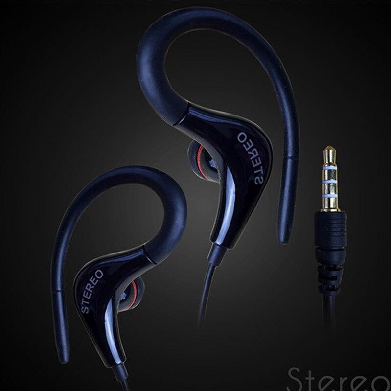 Esportes Execução de Fone De Ouvido Sem Microfone do Fone de ouvido 3.5mm fone de Ouvido Estéreo Fones de Ouvido Fone de Ouvido Para Computador Telefone Celular MP3 Música 3