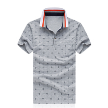 Men Polo Shirts 100% Mercerized Cotton Summer Short Sleeve Casual Slim Fit  Shirt Plus Size 5XL Business Chemise Homme M 4XL