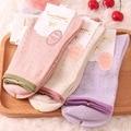2017 brand Girl Socks  Women Cotton Socks Female Lady COCO VANILLA dot print Modal Breathable antibacterial anti beriberi