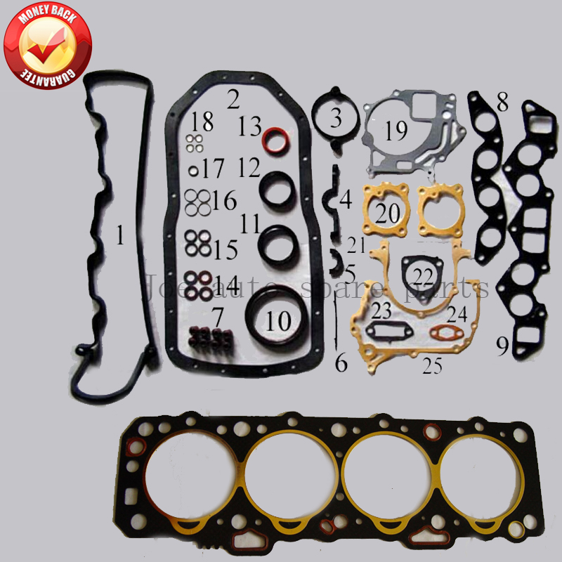 LD20 Engine Full gasket set kit for Nissan Bluebird Serena Nomad bus box Trade 2 0D