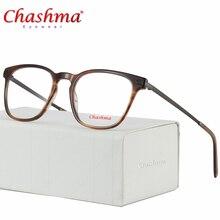 Chashma Acetate Optical Glasses Frame Men Myopia Prescription Eyeglasses Women Ultralight Transparent Spectacles Eyewear