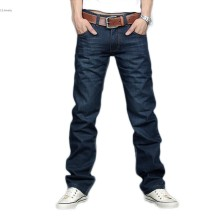 Hot Classic Men Stylish Designed Straight Slim Fit Denim Trousers Casual Jeans Pants Long Pants