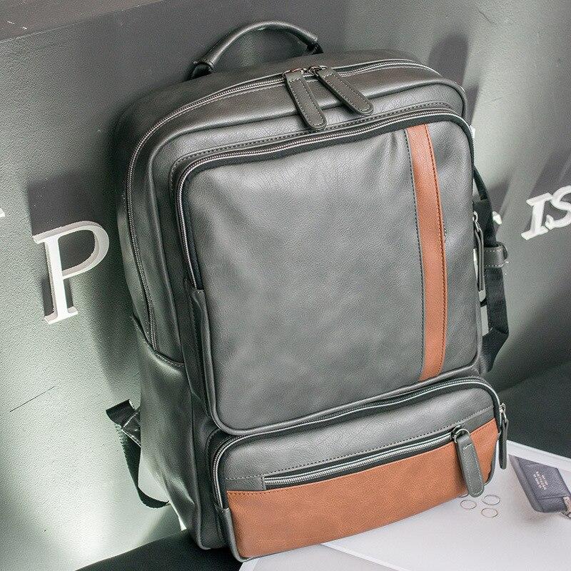 PU 2 voies transportant 14 15 15.4 15.6 pouces étanche ordinateur portable sacs pour ordinateur portable sac à dos porte documents pour hommes femmes-in Étuis et sacs pour ordinateur portable from Ordinateur et bureautique on AliExpress - 11.11_Double 11_Singles' Day 1