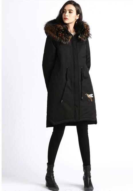 Italiano C Diseño Abrigo Invierno Mujer De Moda B Show Yr201811l1 Y0xCTFY