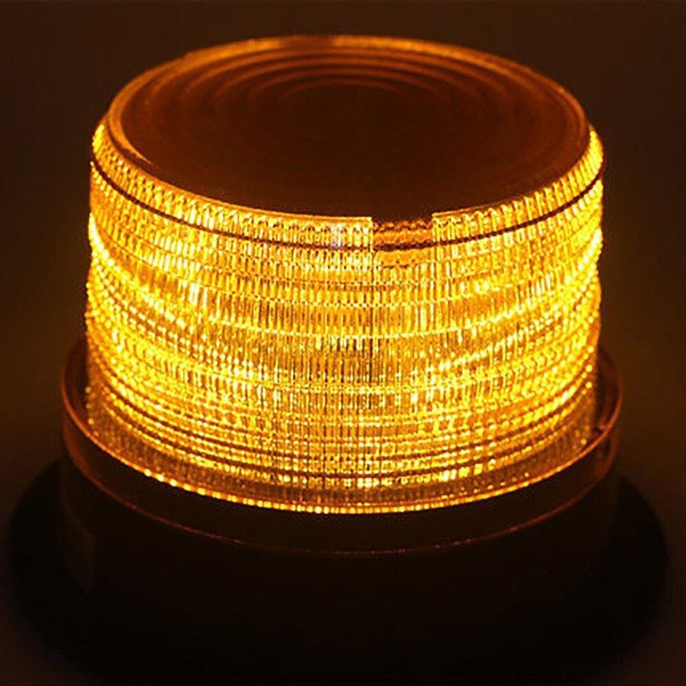 Car Led Light LED Car Warning Light Emergency Light Bulb Amber Flashing Strobe Beacon 12V-24V MAY09