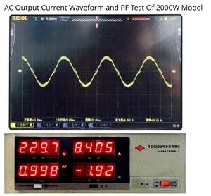 Image 5 - 1000W MPPT energia słoneczna na inwerter sieciowy z ogranicznikiem dla pojedynczego/3 fazy połączenia DC 22 60V wejście do AC 220V 230V 240V